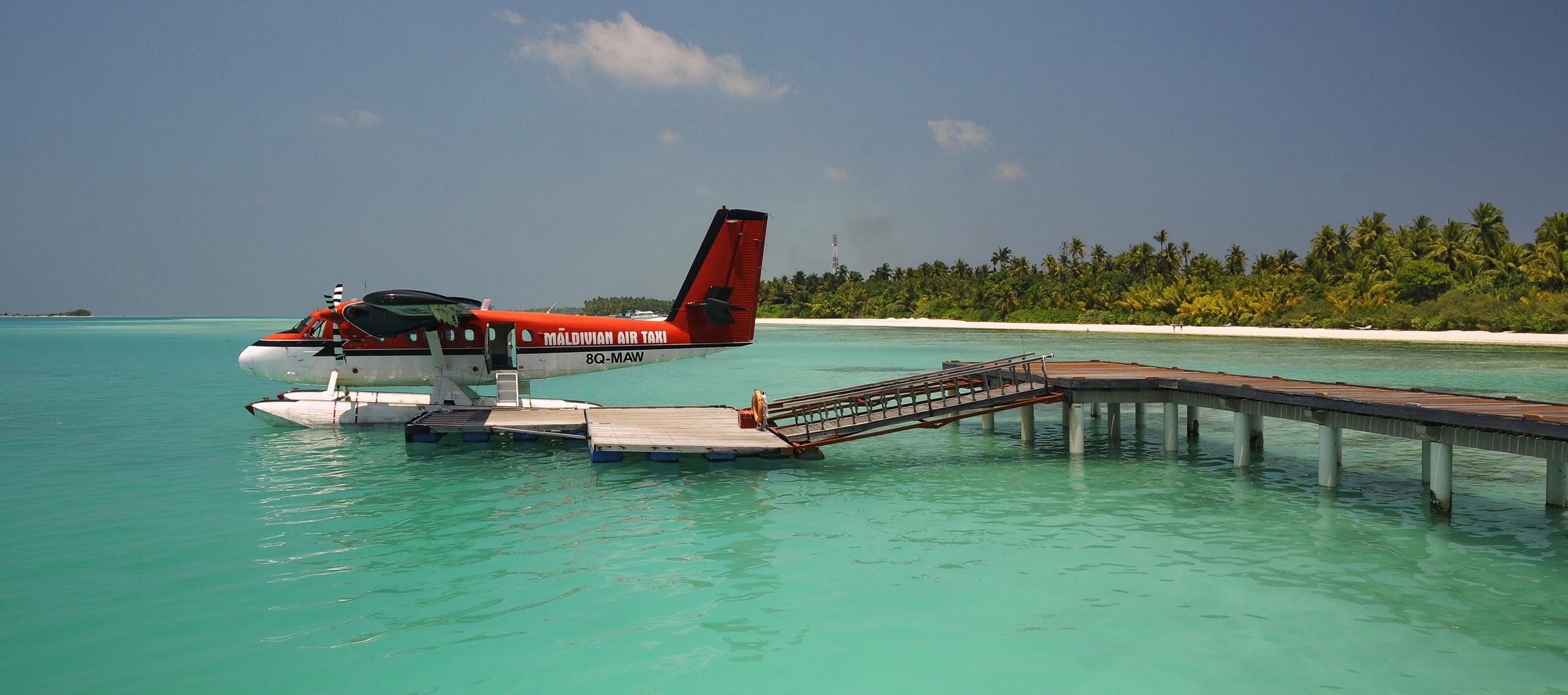 Hallöchen  Grüße von den Malediven von Biggi