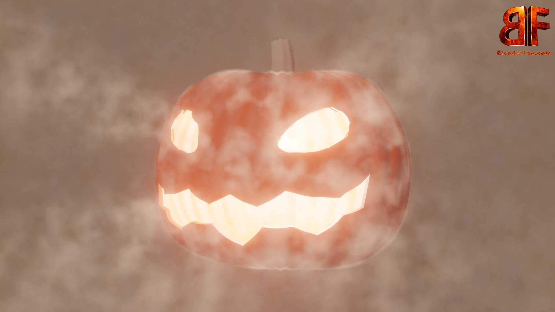 Halloween 3d Kürbis Pumpkin