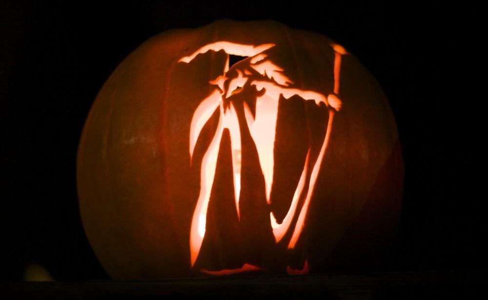 halloween kürbis  zauberer foto  bild  stillleben