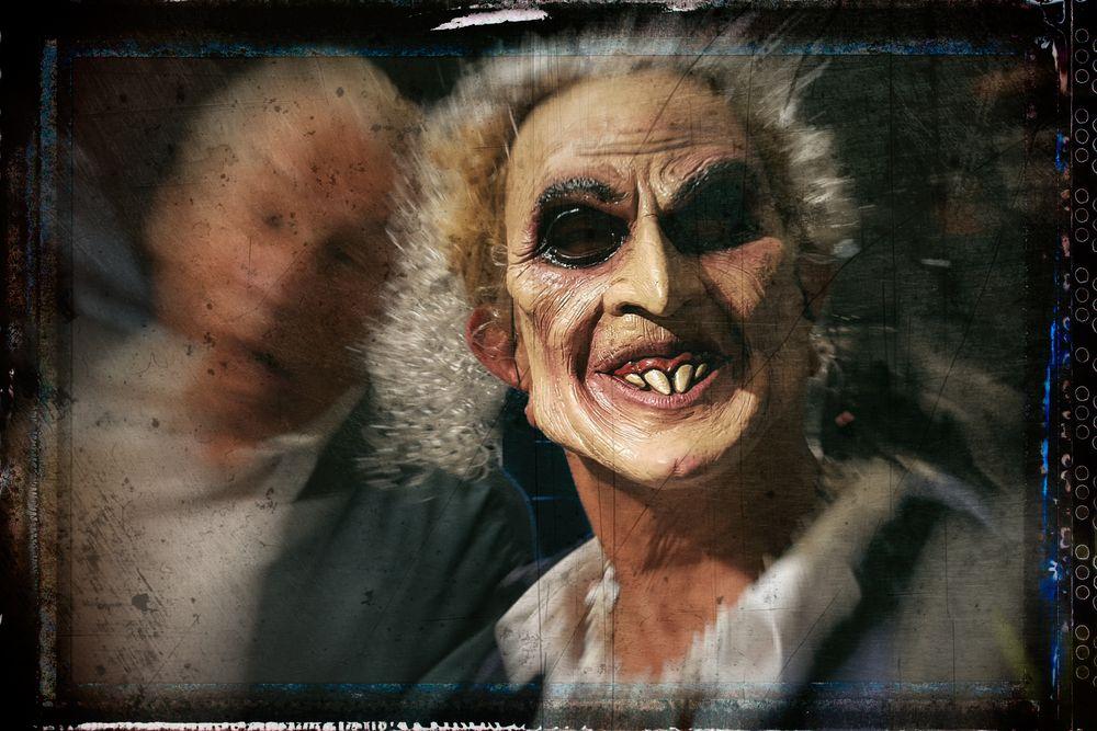 halloween - selbstportrait