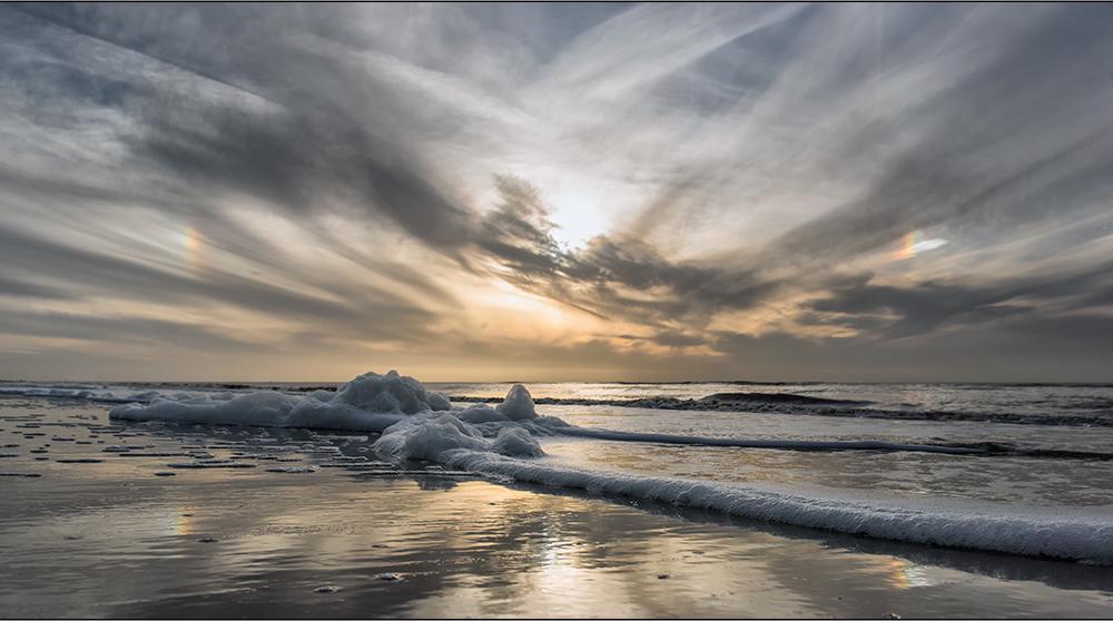 halos am strand