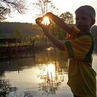 Halt die Sonne fest:-)