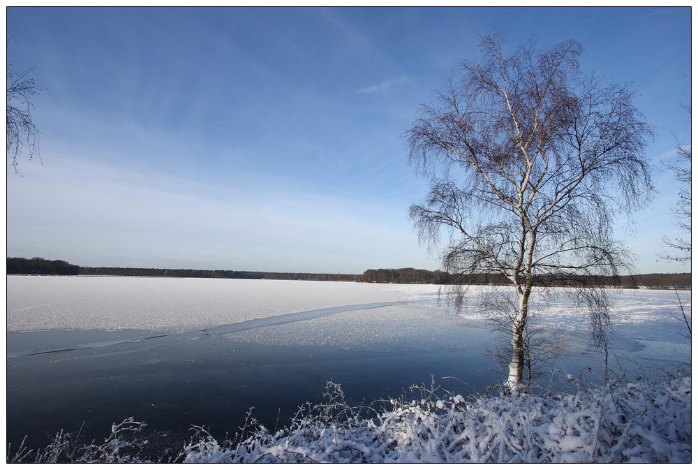 Halterner Stausee im Winter