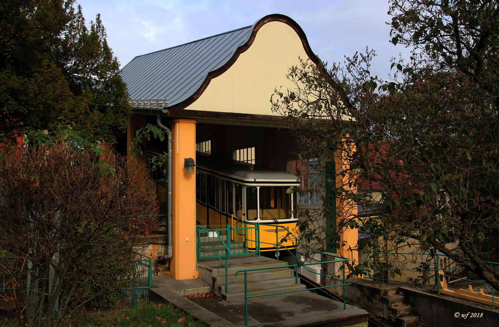 Haltestelle Bergstation