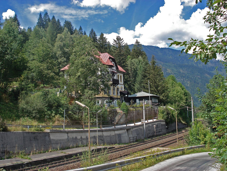 Haltestelle Hofgastein Österreich