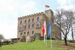 Hambacher Schloss, Aufgang