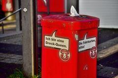 Hambnurger Mülltonne