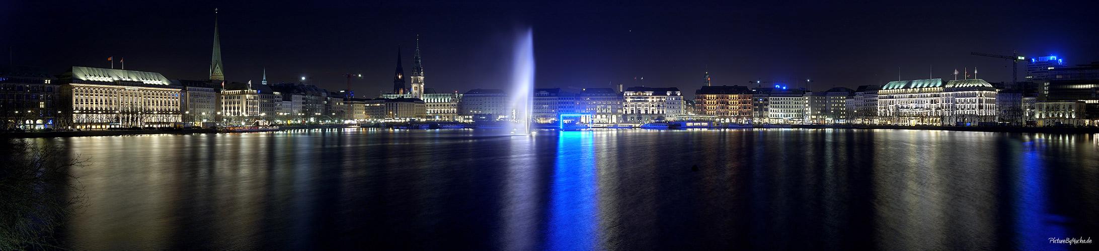 Hamburg --> Alster --> Blaue Tore