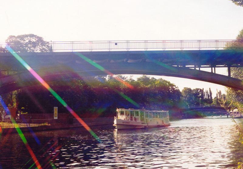 Hamburg Alster mit Spektralfilter