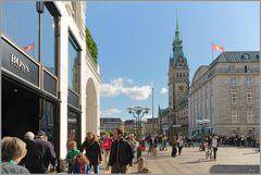 Hamburg am Rathaus