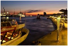 Hamburg an der Elbe, oder....
