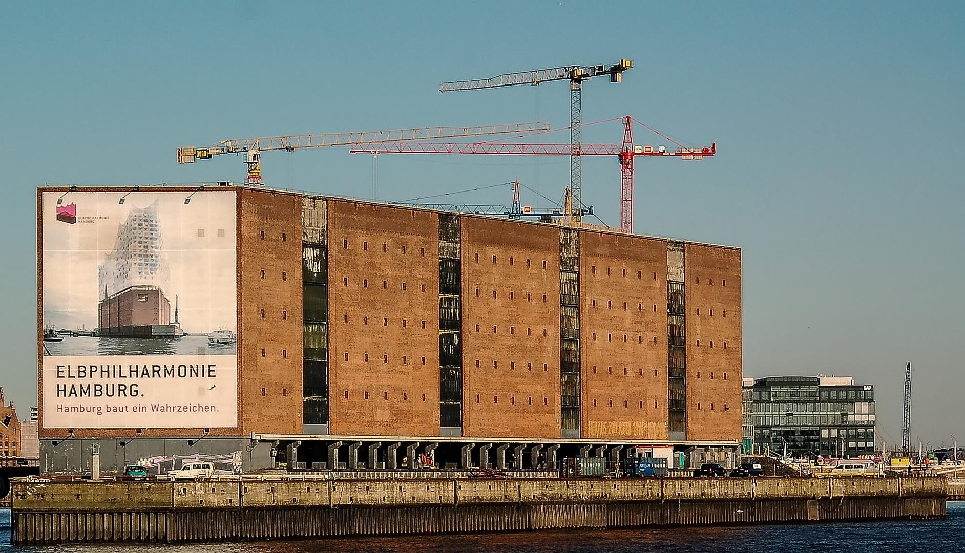 Hamburg baut ein Wahrzeichen