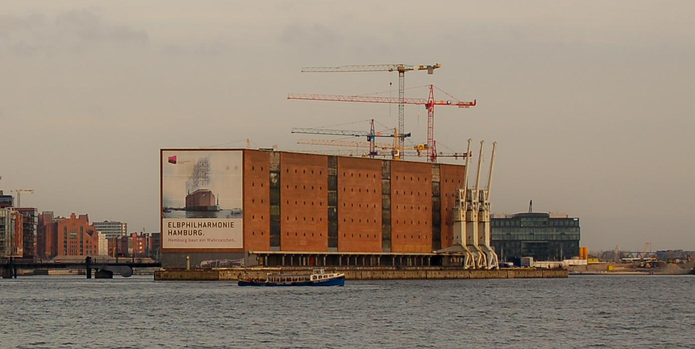 Hamburg baut ein Wahrzeichen *