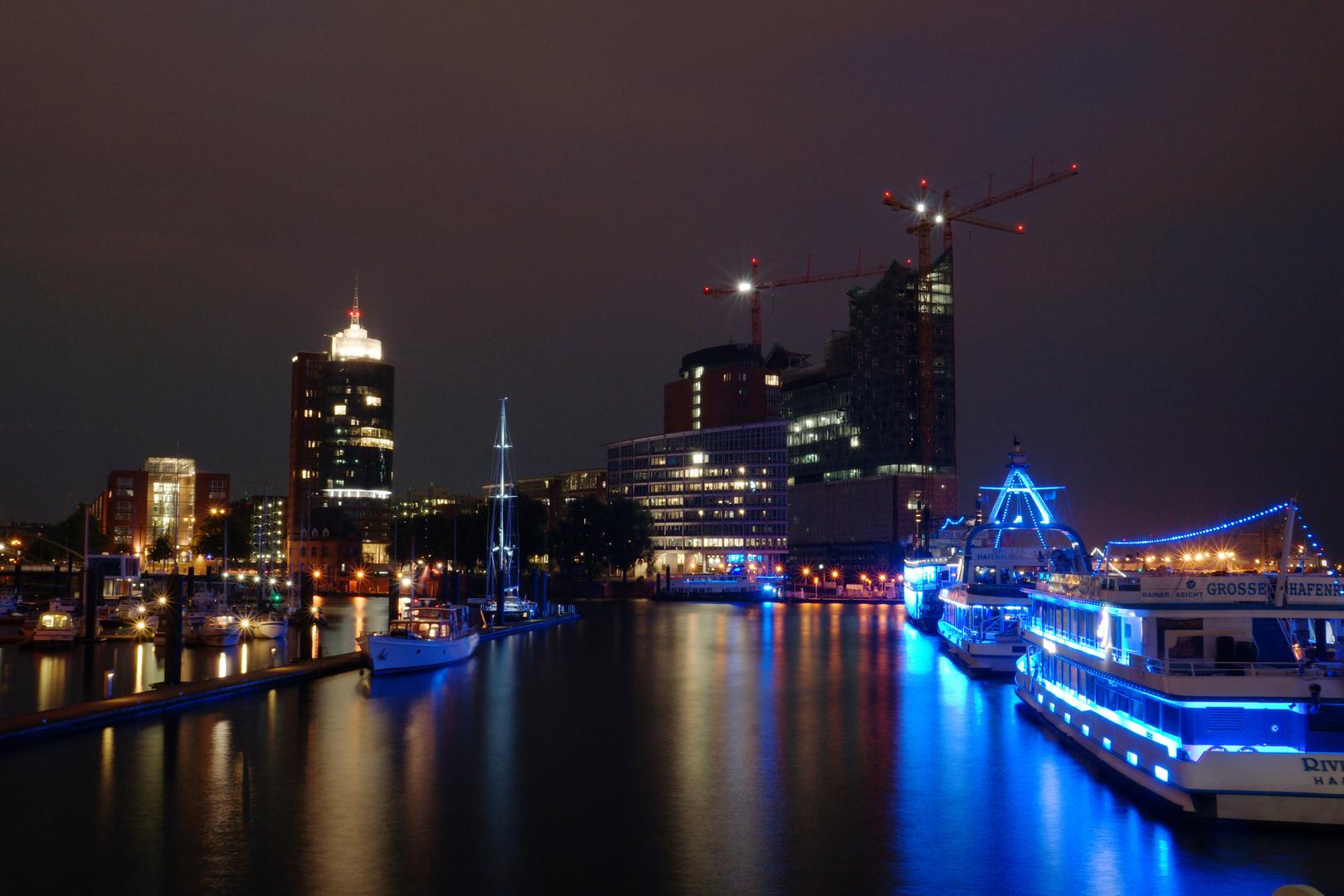 Hamburg bei Nacht 1