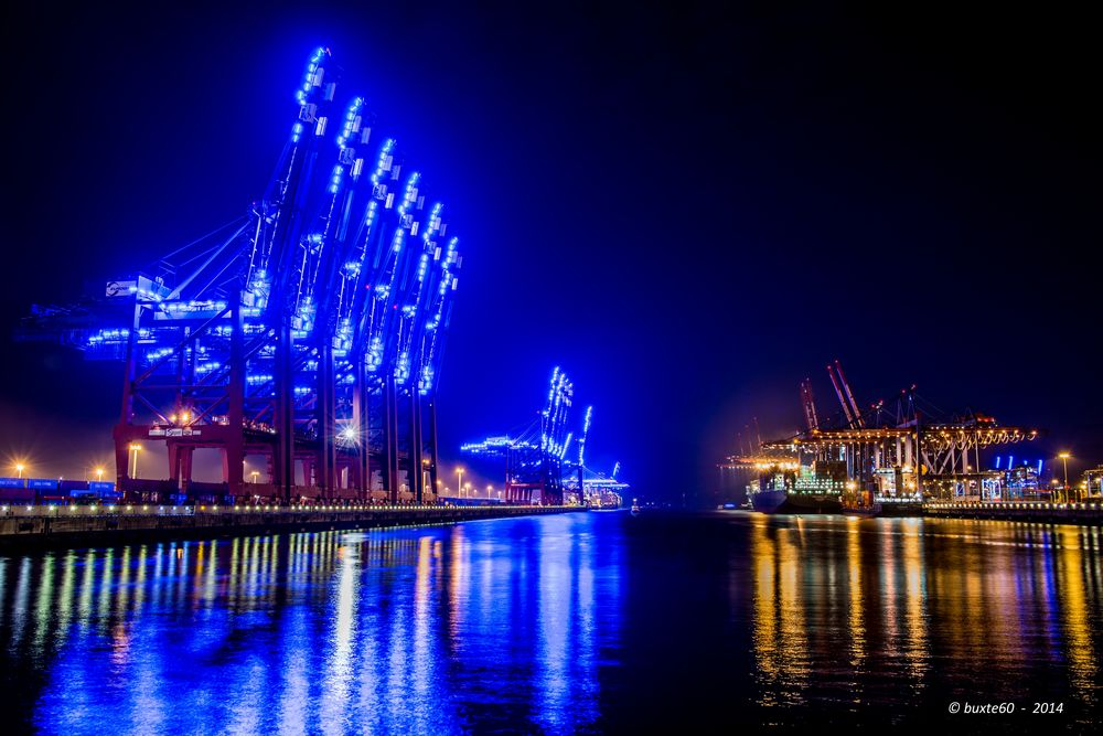 Hamburg Blue Port - Eurogate