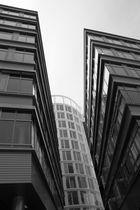 Hamburg. Bürogebäudegedöns.
