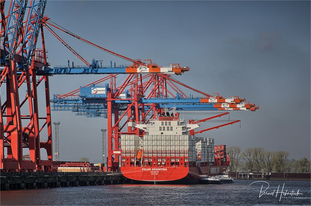 Hamburg .... Containerhafen