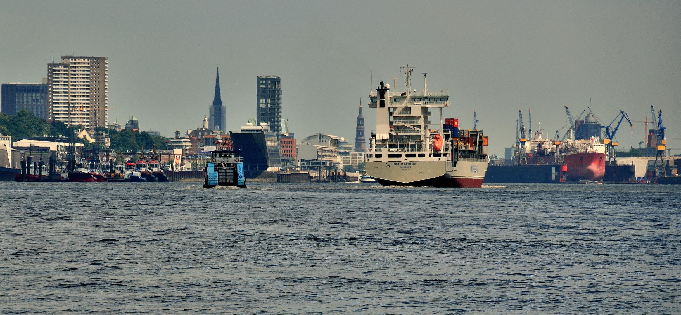 Hamburg , das Tor zur Welt