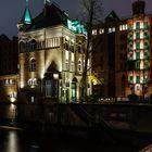 Hamburg - das Wasserschloss in der Speicherstadt