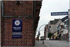 """Hamburg - Davidswache am """"Spielbudenplatz"""""""
