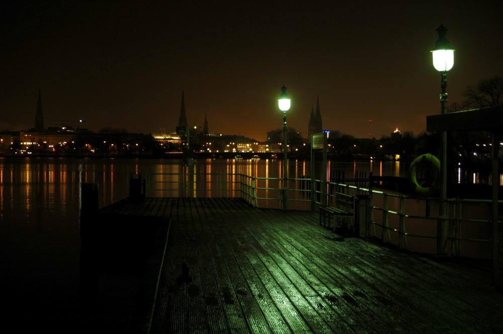 Hamburg - Düstere Filmkulisse