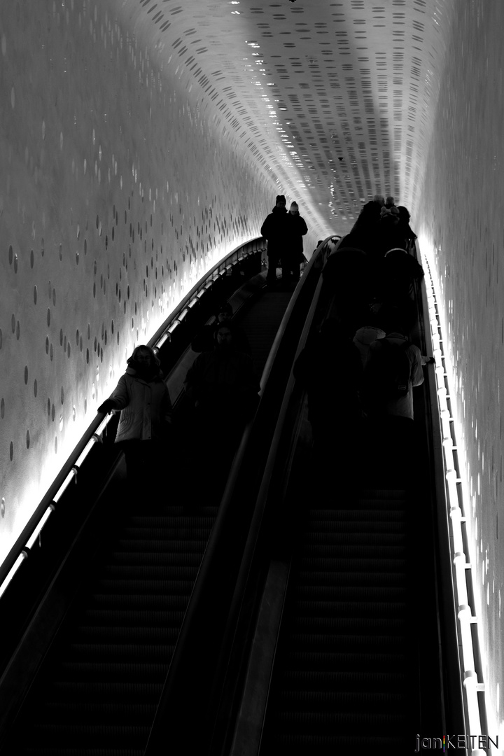 Hamburg: Elbphilharmonie 3 - Rolltreppe (2016)