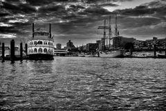 Hamburg Hafen - Ein Abend im August