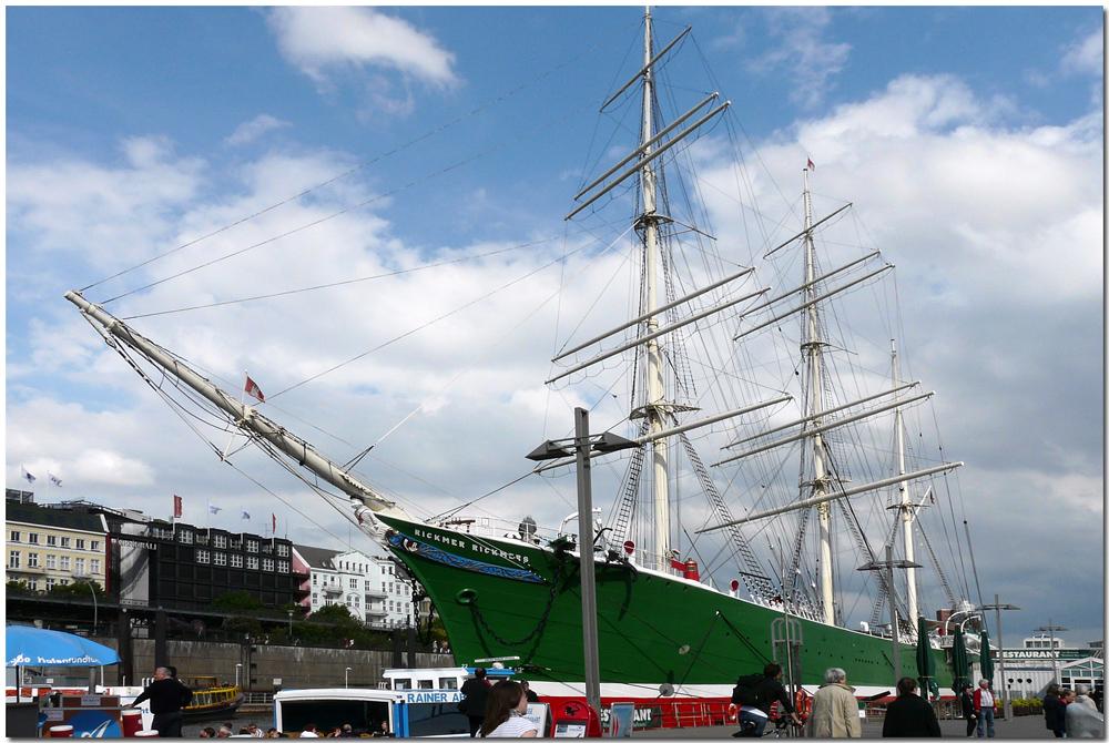 Hamburg - Hafen - Rickmer Rickmers