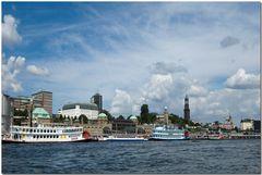 Hamburg - Hafenpanorama