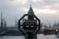 Hamburg Harbour - Tourist View