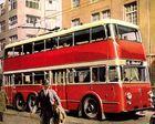 Hamburg Harburg O-Bus Zeichnung ca. 1955