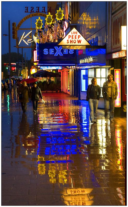 Hamburg im Regen....