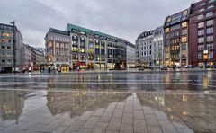 Hamburg im Regen
