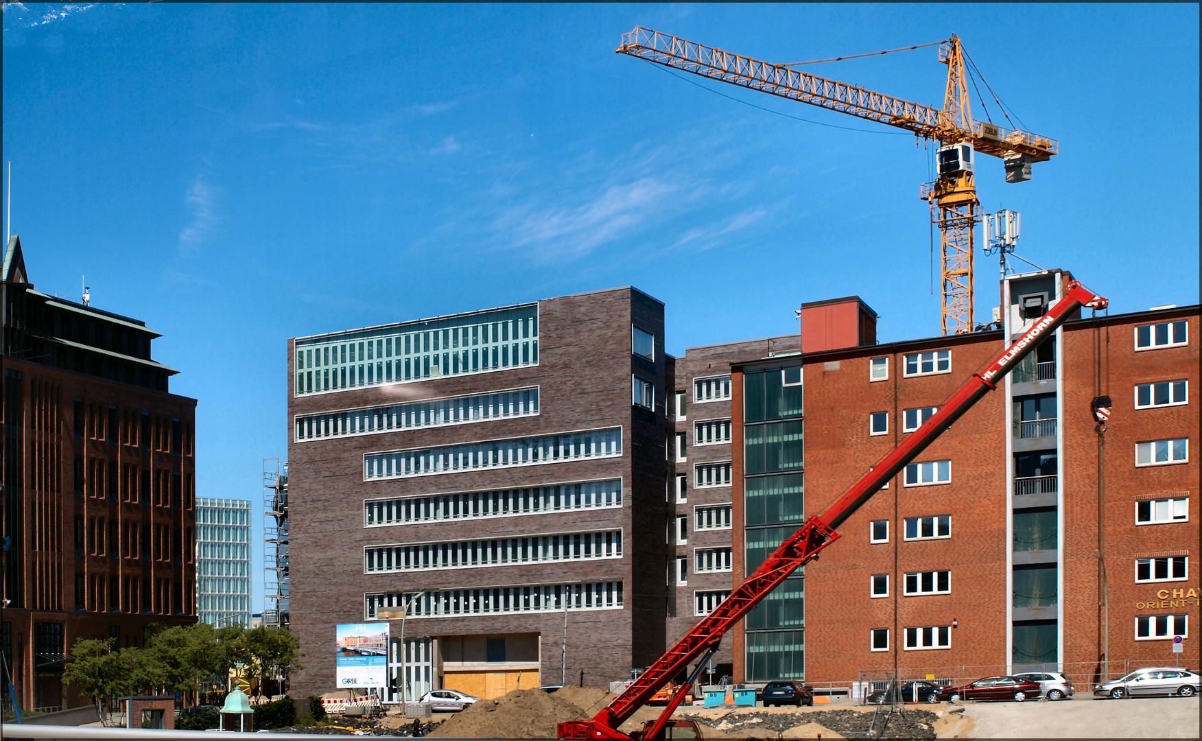 Hamburg Is Growing Foto % Immagini