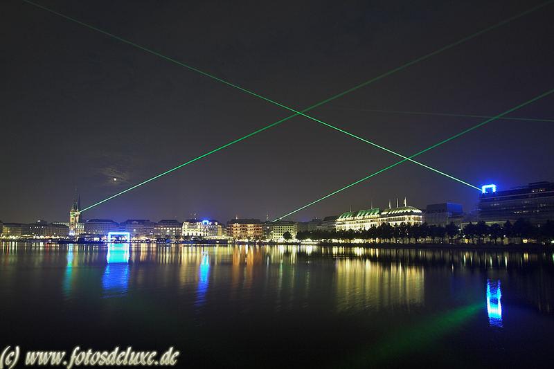 Hamburg Lasershow
