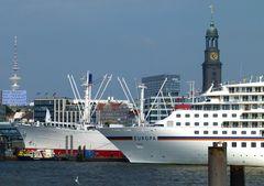 Hamburg liegt in Europa aber dass ......