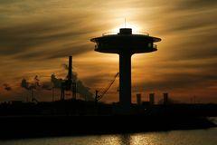 Hamburg Lighthouse Zero Wohnleuchturm in der Hafencity Hamburg