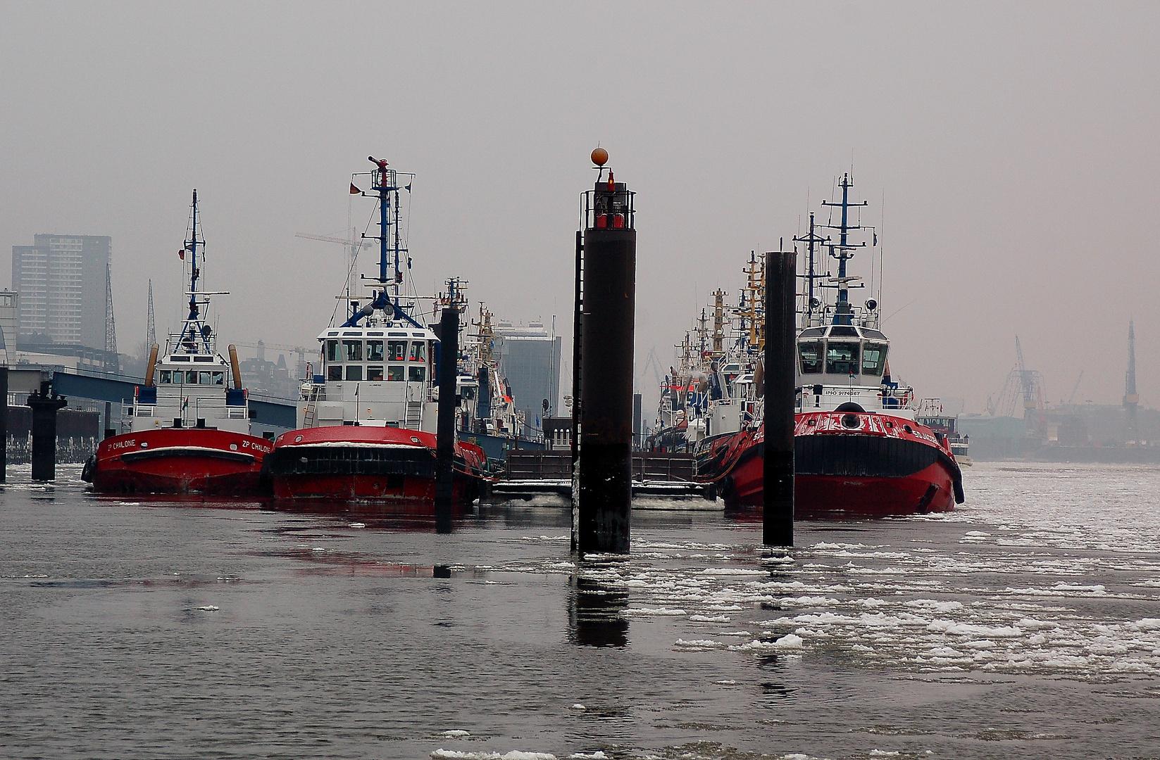 Hamburg seine Hafenschleppers 10