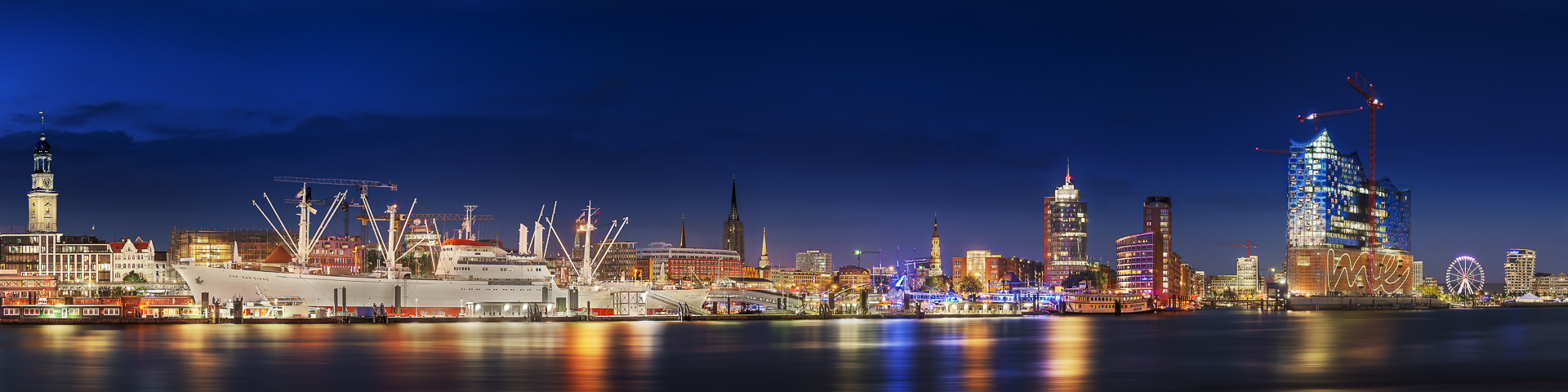 hamburg skyline foto bild deutschland europe hamburg bilder auf fotocommunity. Black Bedroom Furniture Sets. Home Design Ideas