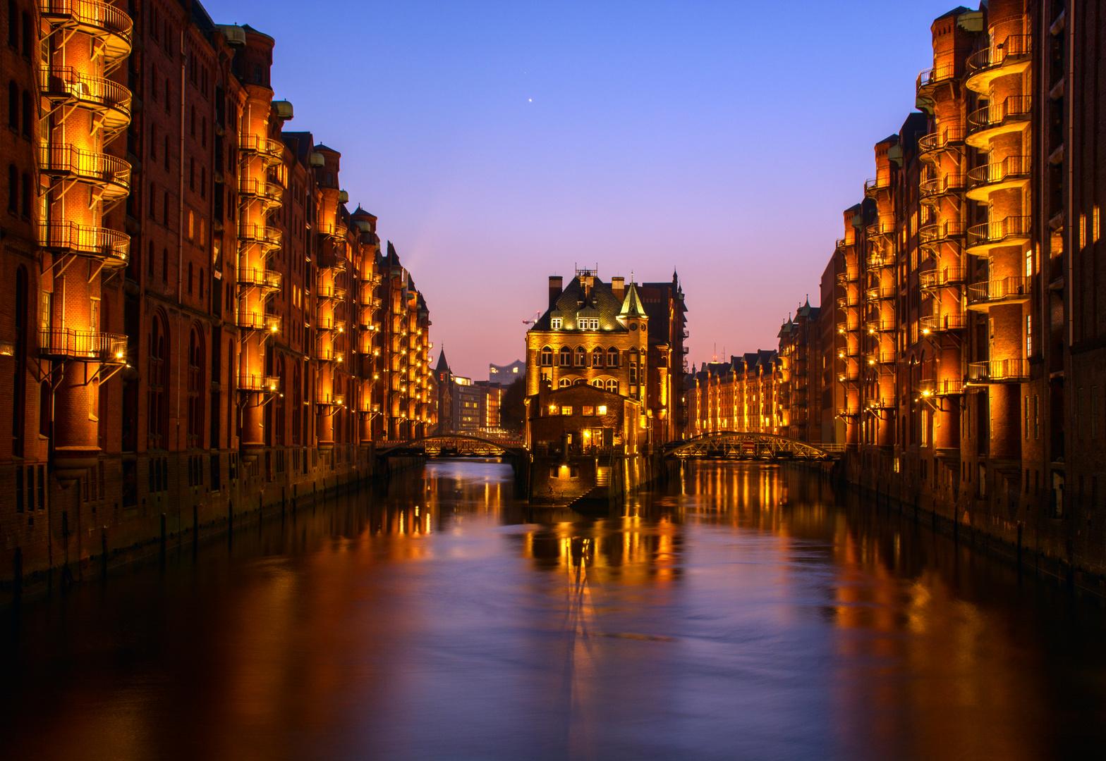 Hamburg... so schön in der Speicherstadt! :-)