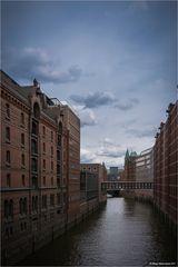 Hamburg, Speicherstadt...