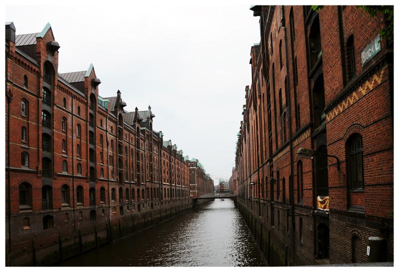 Hamburg Speicherstadt ohne Blendeneffekte
