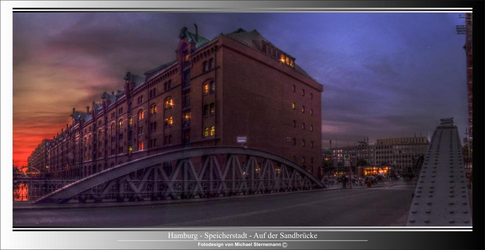 Hamburg Speicherstadt / Sandbrücke