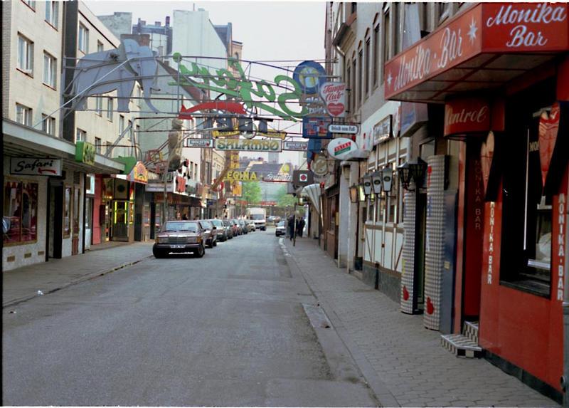 Hamburg St.Pauli Große Freiheit.