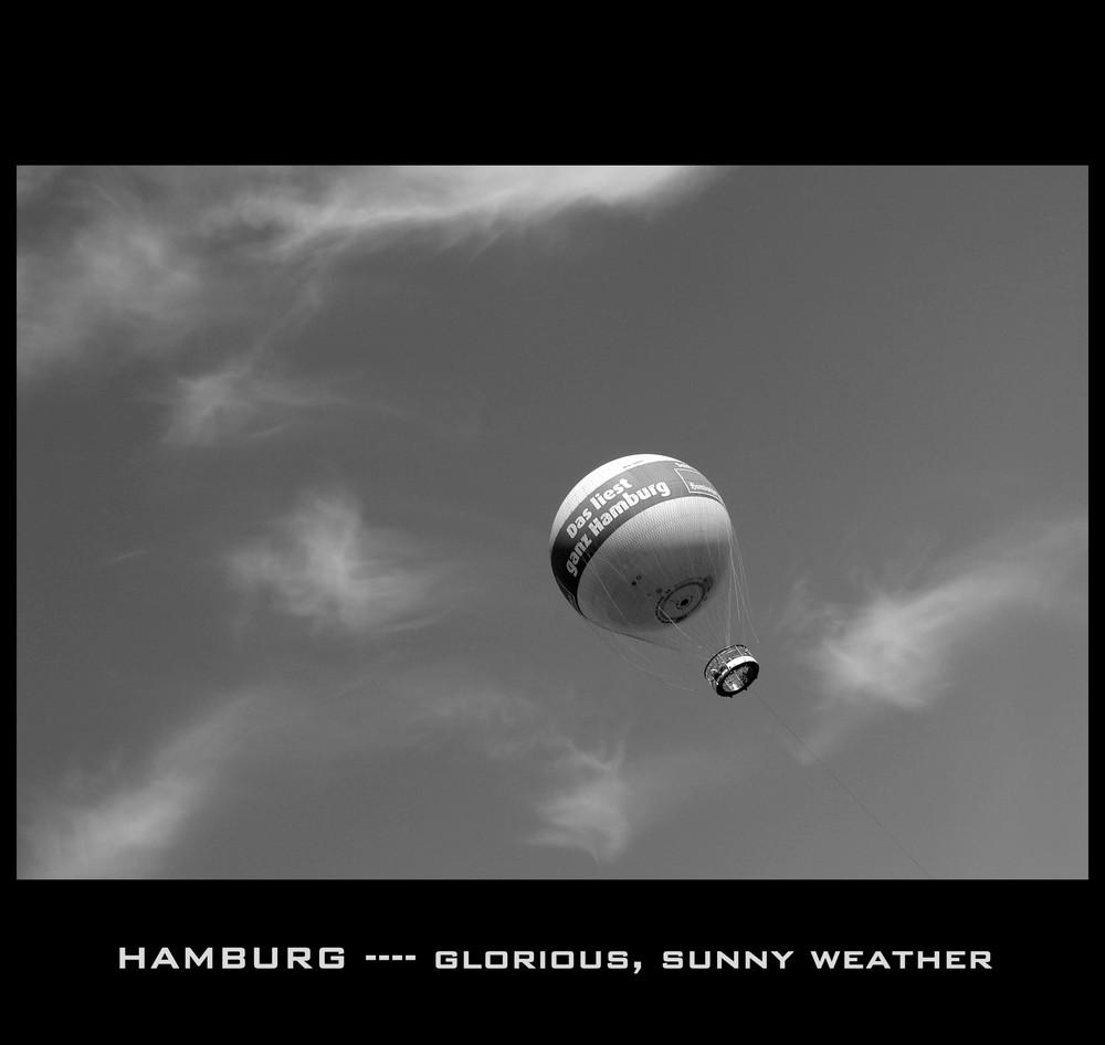 Hamburg - sunny weekend