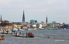 Hamburg vor der Abfahrt