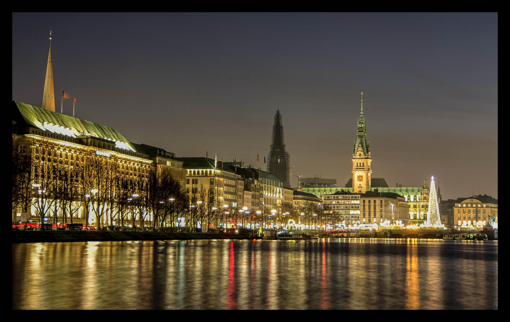 Hamburg vor Weihnachten