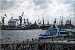 Hamburg - Werft Blohm + Voss