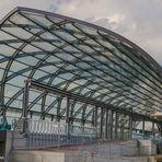 Hamburger Ansichten - neue U-Bahn-Station Elbbrücken