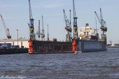 """Hamburger Hafen - Blohm & Voss - """"Dock 11"""""""